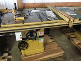 16034- Powermatic #66 Tablesaw 230 volt single phase Lightly Used with jig