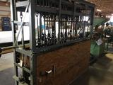 16050- Custom Built Seat Drill, Line Shaft