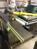 16177- Minimax Slide tablesaw, hydraulic