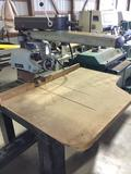 16183- delta radial arm saw, 3 phase