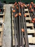 16205- 8 piece pony bar clamps