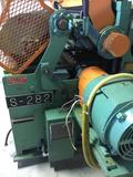 16212A- Newman S-282 18 inch sizing planer, top bottom 18 inch spiral head