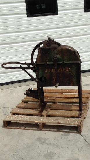 John Deere corn sheller, galvanized sides