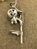 Silver MFG Co. Salem Ohio Post drill