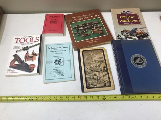 LOT OF TOOL RELATED BOOKS
