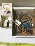 LOT OF WATCHMAKER'S TOOLS