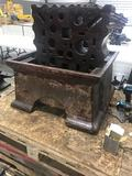 WOW! 1300 pound swage block, with base!