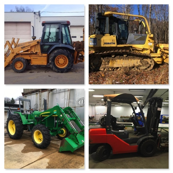 Heavy Equipment, Rolling Stock, Trucks, Trailers