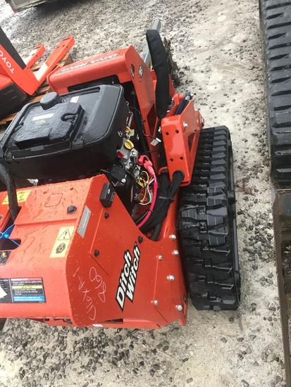 1067- Ditch witch portable trencher with 16HP Vanguard motor