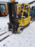 1528- Hyster 65 tow motor with 31196 hours