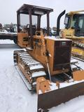 1508- Case 450B Dozer with 6 way blade, showing 6243 hours
