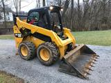 1501- 2016 Cat 242D Skidsteer with Bucket and 221 hours
