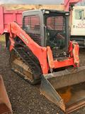 1530- 2014 Kubota Skidsteer with cab and Heat/air. Model SVL75