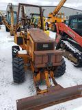 1529- Case 460 Trencher with 1337 hours