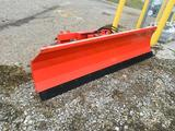 1085- TMG Industrial 7 foot blade forklift attachment