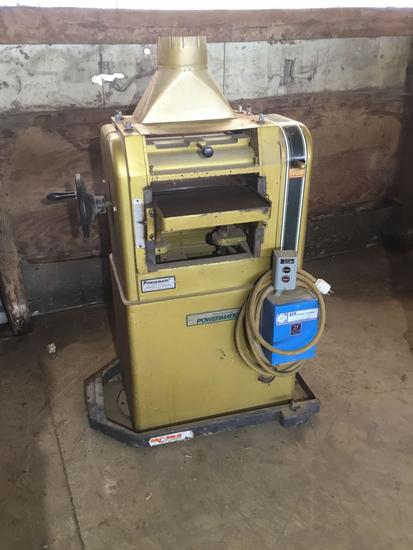 3017- Powermatic 15 inch Planer,