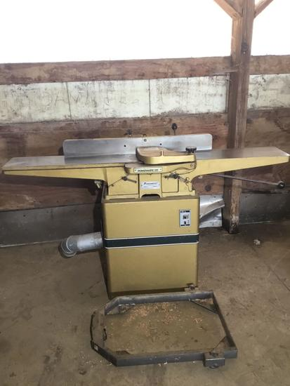 3020- Powermatic 8 inch Jointer,