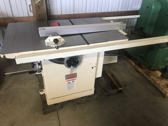 3004- Accura 12 inch sliding tablesaw, No Motor