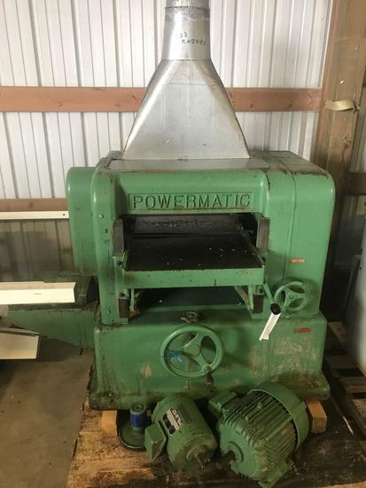 3005- Powermatic 20 inch planer w/ Byrd Spiral Cutter