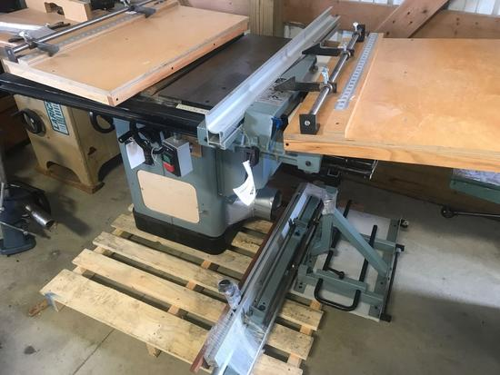 3010- Delta 10 inch unisaw w/ sliding table, 220 volt