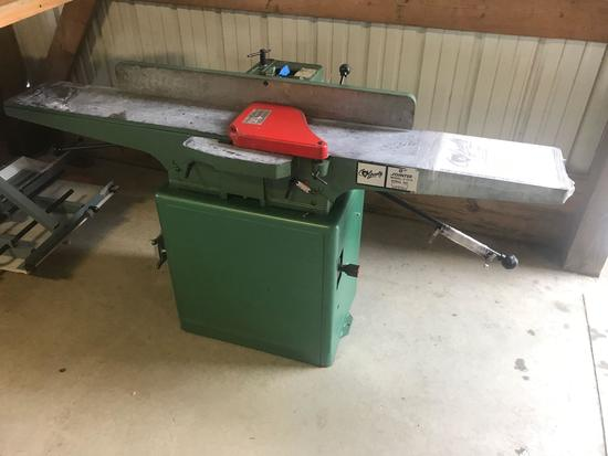 3011- Grizzly 8 inch Hydraulic Power Jointer