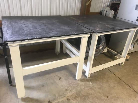 3013- 2 downdraft table w/ 1 blower system