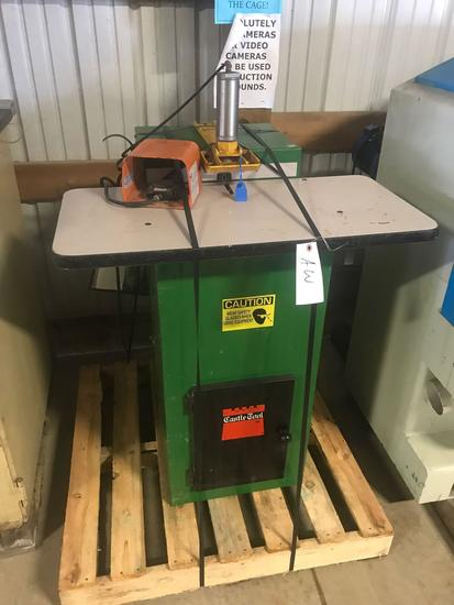 3022- Castle Pocket Hole Machine 110v/ air