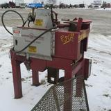 Keystone cant sizer, up to 12 in., hyd. Driven; Morgan 16 in. chopsaw w/extra blade and