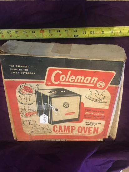 Coleman Camp Oven in original box