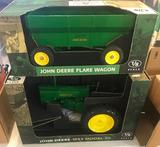 2 Items, John Deere Tractor Model 70 and John Deere Flare Wagon both 1/8 scale, sell times the money