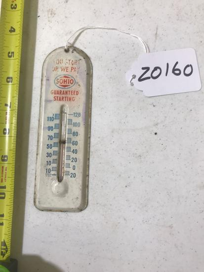 Sohio Thermometer with mercury