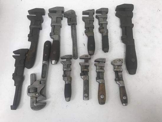 Large lot of Vintage/Antique Wrenches