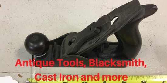 Antique Tools, Blacksmith, Cast Iron and more