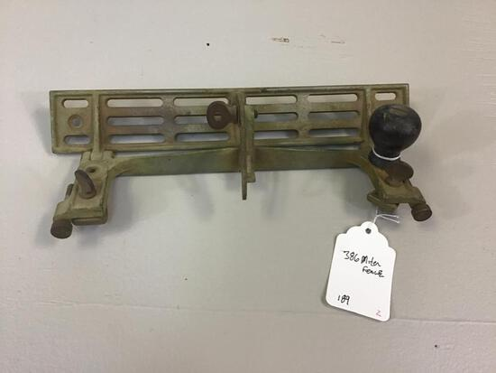 STANLEY NO. 386 JOINTER FENCE