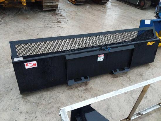 27005- New Industries of America 96 inch Skidsteer Bucket