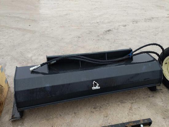27008-New Wolverine 6 ft Rototiller Skidloader Attachment