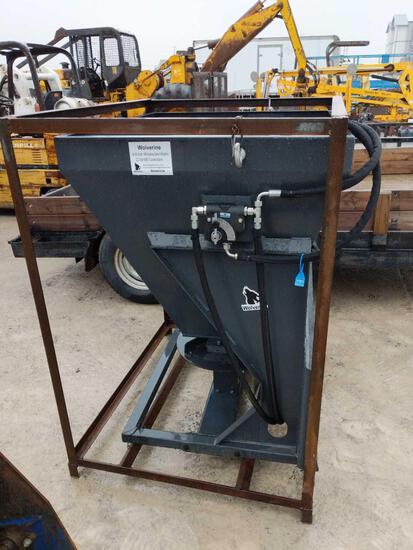 27012- New Wolverine Hydraulic Skid Steer Spreader