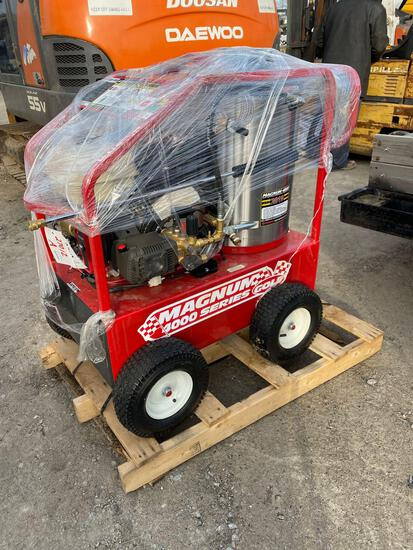 27012a- Magnum 4000 heated power washer 15hp