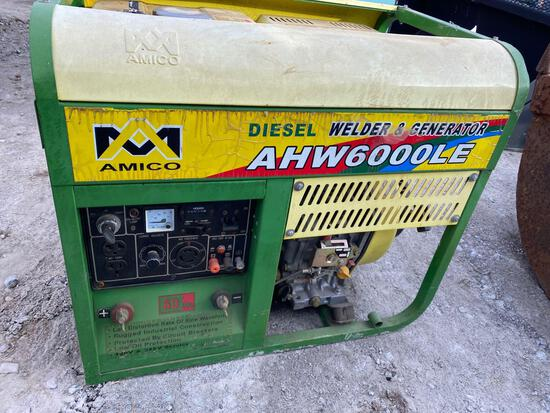 27012f- Amico Diesel Welder/Generator #AWE6000LE