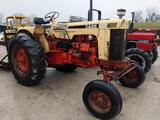 27038- Case 730 Tractor, 3 point hitch, PTO plus hydraulics hookups, Case A267D 4 cyl diesel