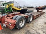 27040- 1987 60 ton Cozad Carry All, 25 foot well