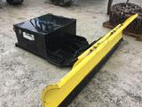 27074 - ANDERSONS FAB CO 8' SNOWPLOW W/ WEIGHT BOX