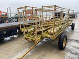 27143 - RUST CO PORTABLE PULL BEHIND SCAFFOLDING SET