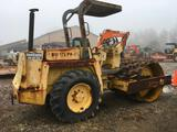 27019- Bomag Vibratory Sheeps Foot Roller, BD-2, Dutz 4 cyl Air Diesel Engine, showing 2444 hrs