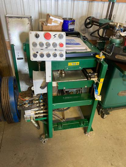 10004- Logosol 4HD Planer/Moulder, Model PH260, hydraulic powered