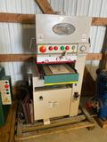 10002- Grizzly 15 inch widebelt sander, Model G9983, Serial No. 93041508, Hydraulic Powered