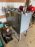 10008- Parker 50 hydraulic pump w/ Lanco Tank, Model P2105R0005010, serial no. J08R101