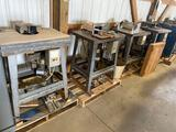 10009- 4- Weaver Industrial Shapers w/ cutters and jigs, 220 volt single phase