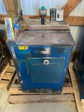 10010- Whirlwind 1000L Upcut Saw, Serial 1402485L, Electric 3 phase