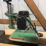 10026- Steff 3 roll power feeder, model 2034, 230v 3 phase, serial 2701442